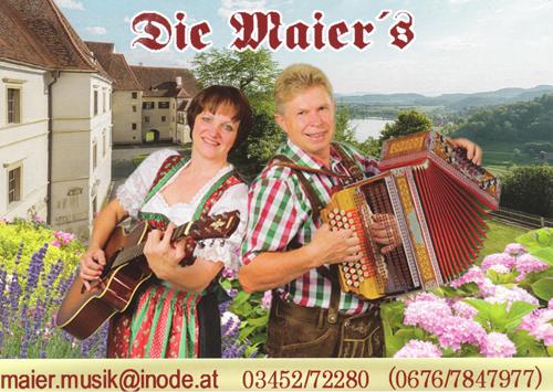 Die Maiers Gerti & Toni, das Duo aus der Südsteiermark