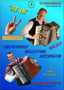 Oberkrainer-Begleitung-Akkordeon Ausgabe 3 (Walzer)