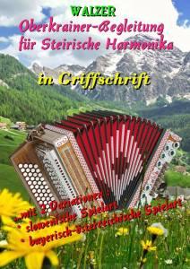 Oberkrainer-Begleitung-Steirische Ausgabe Walzer
