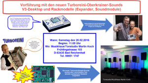 Turboreini-Oberkrainer-Sound (Sample) Vorführung und V3-Desktop Anleitung