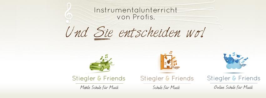 Stiegler & Friends Musikunterricht von Profis
