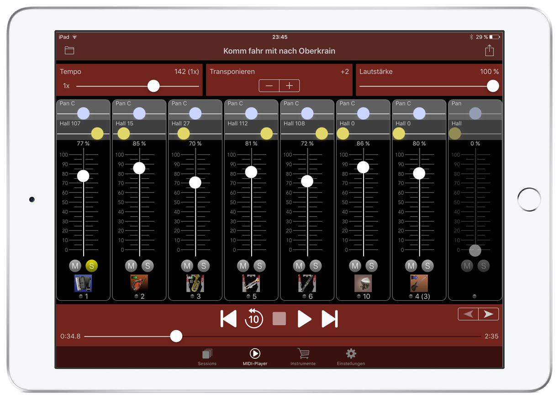 Turbosounds-App das Soundmodul für zeitgemäße Musiker!