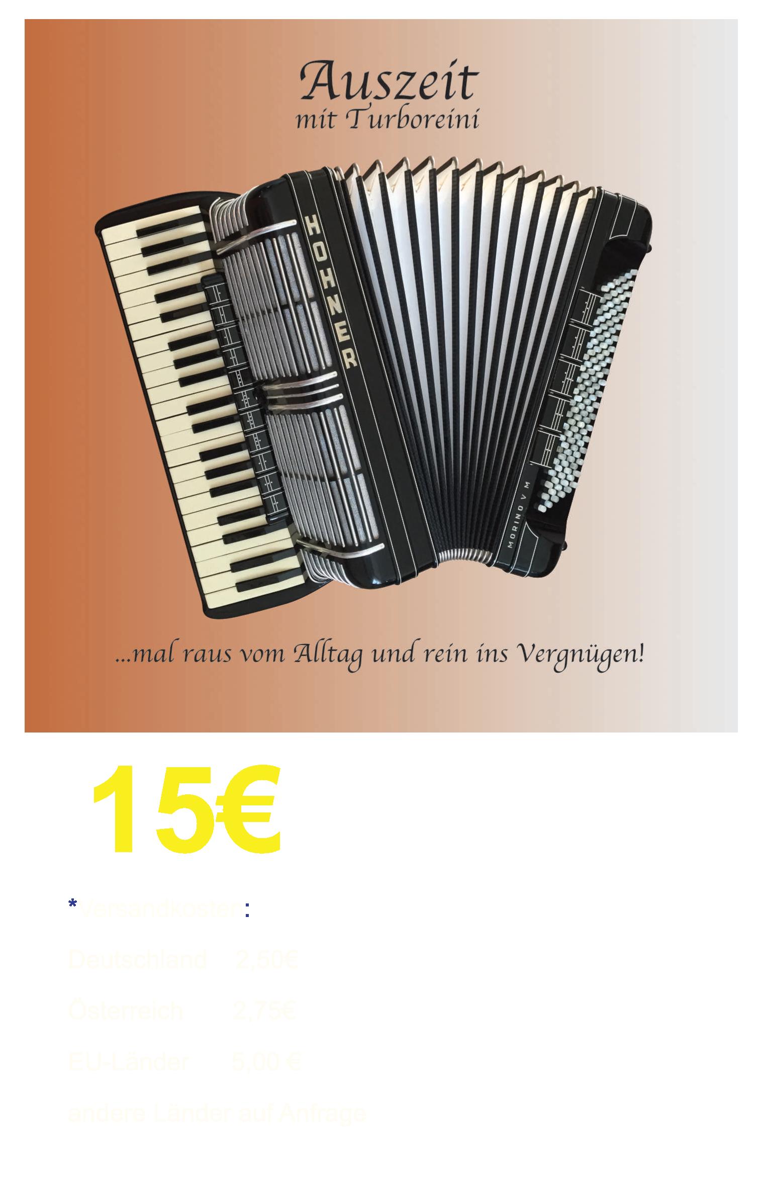 """Turboreini-CD """"Auszeit"""" ab sofort erhältlich!"""